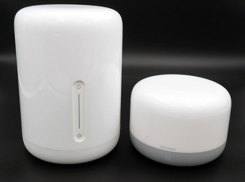 Прикроватные лампы Xiaomi сравнение