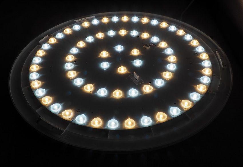 Светодиоды в светильнике Xiaomi