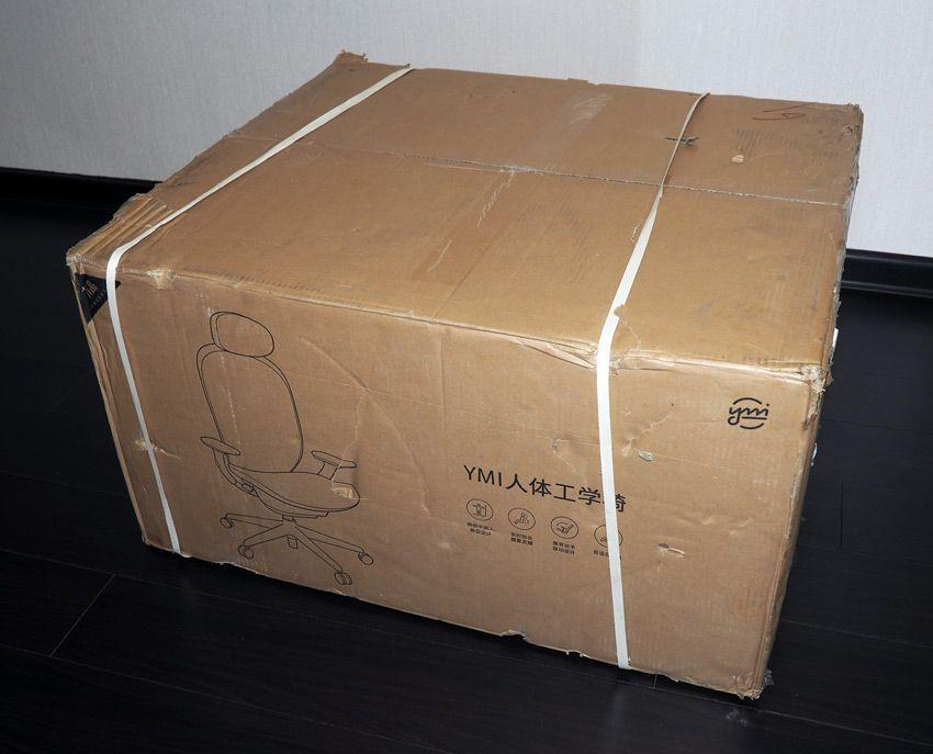 Коробка от компьютерного кресла Xiaomi