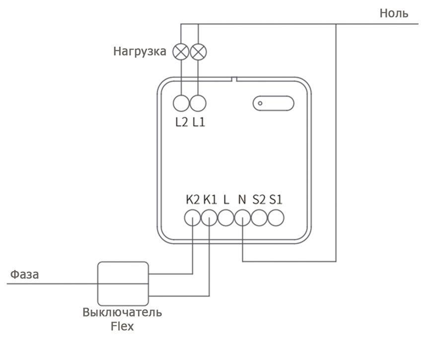 Схема Flex выключателей
