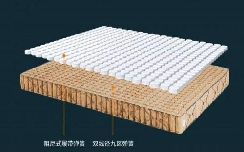 Xiaomi FunSleep 8H nine-zone latex spring mattress graphene version