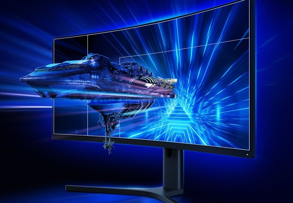 Xiaomi curved display