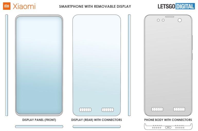 Xiaomi phone patent