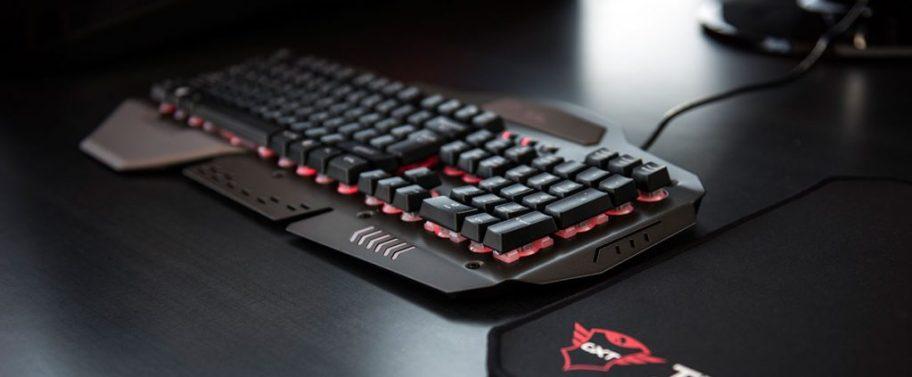 teclado trust 850 GTX metal