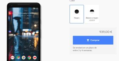 google pixel 2 xl españa