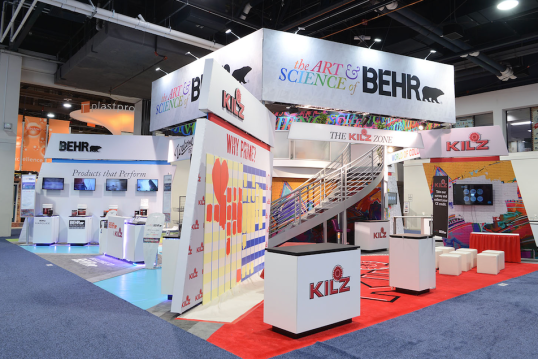 TRADE SHOW DISPLAYS FROM DESIGN TO DISMANTLE
