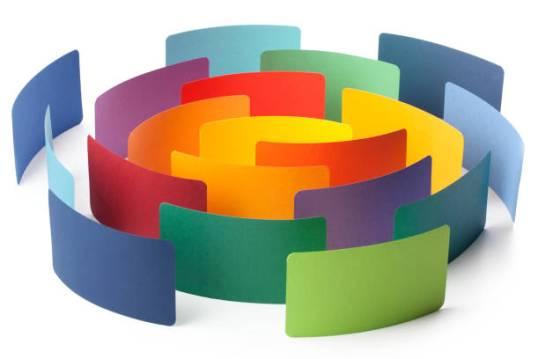 trade show color wheel