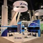 DBi trade show booth 2018