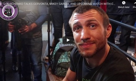 Lomachenko Talks Gervonta Davis , Mikey Garcia, and Upcoming Match with Crolla