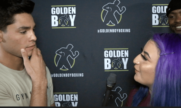 "RYAN GARCIA SAYS HE'LL ""SHOCK THE WORLD"" BY BEATING GERVONTA DAVIS IN 2020."