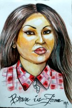 """Brown is Firme"" by Crystal Galindo."