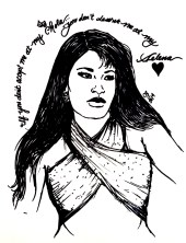 """Chola Selena"" by Crystal Galindo."