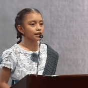 A lesson on indigenous Mexican pride from Natalia, 11
