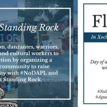 Nationwide floricanto ties broader MeXicanx community to Standing Rock and #NoDAPL