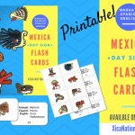 Mexica Day Sign Flash Cards (Printable)