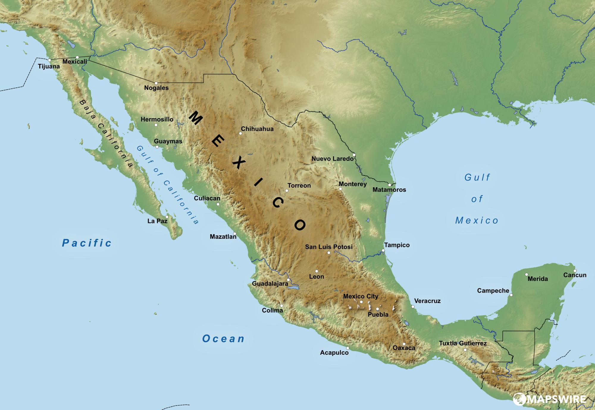 mexico-physical-map-large