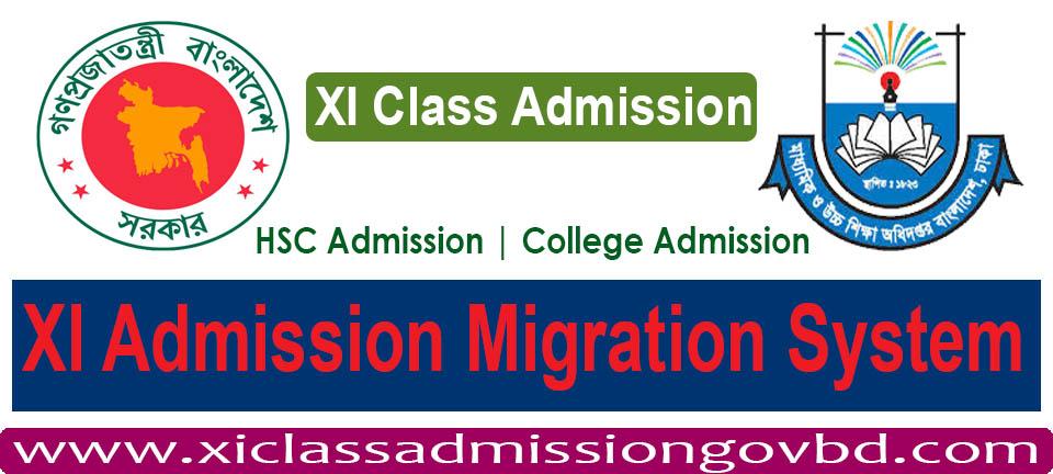 XI Admission Migration System