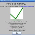 Knowing Your System Memory