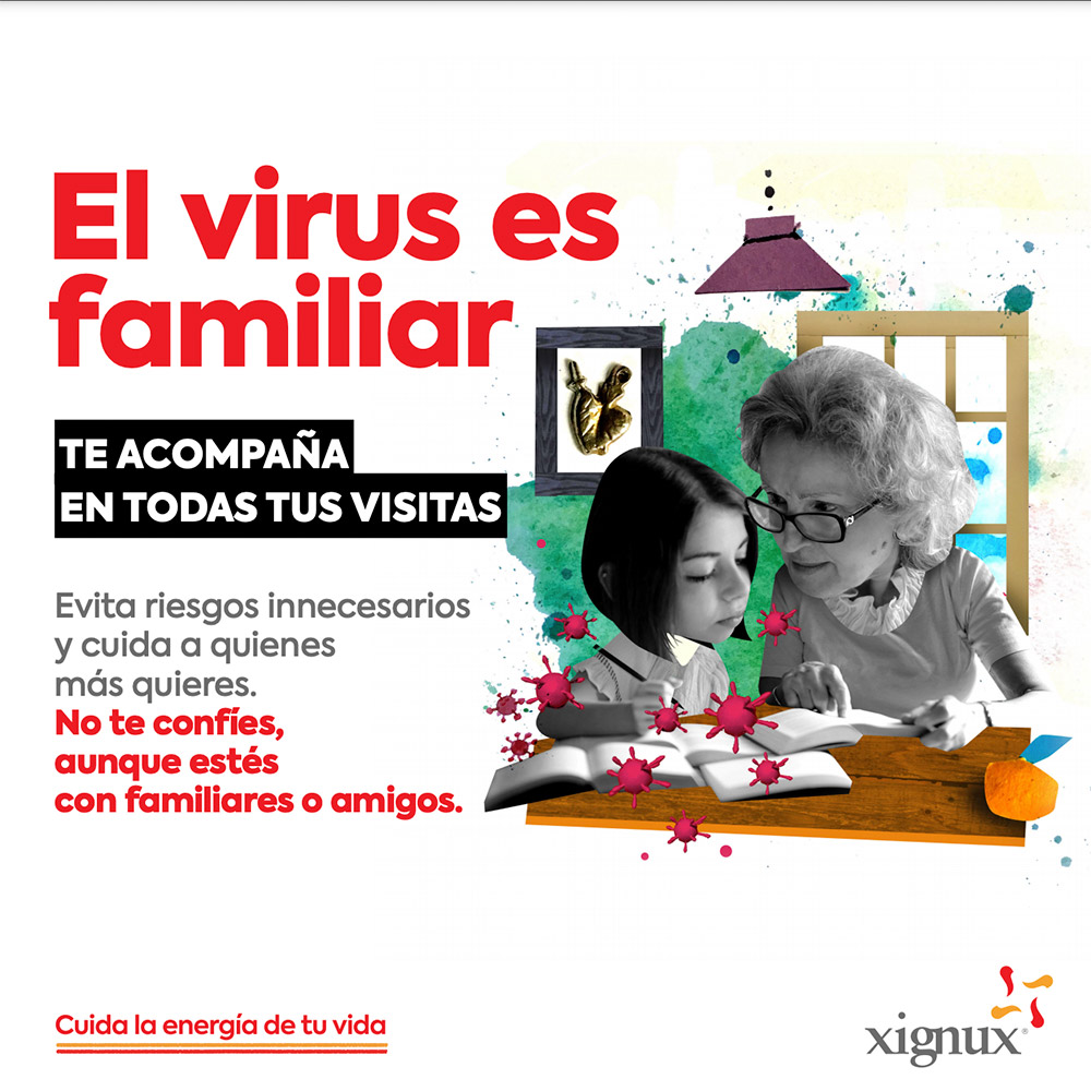 El virus es familiar