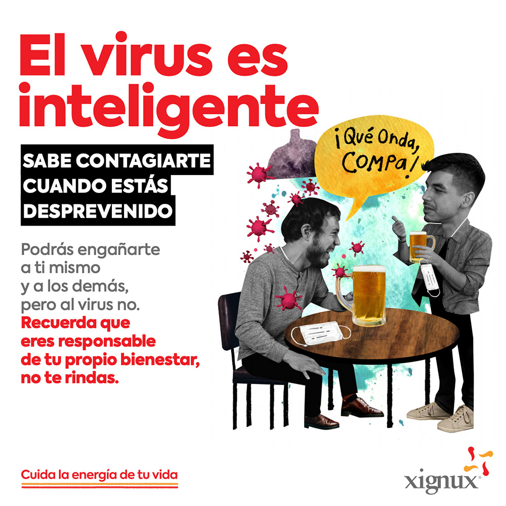 El virus es inteligente
