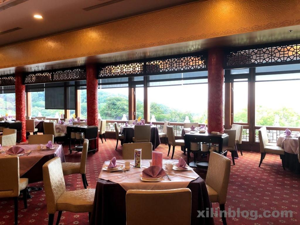 ザ・グランドホテル台北に併設されたレストラン