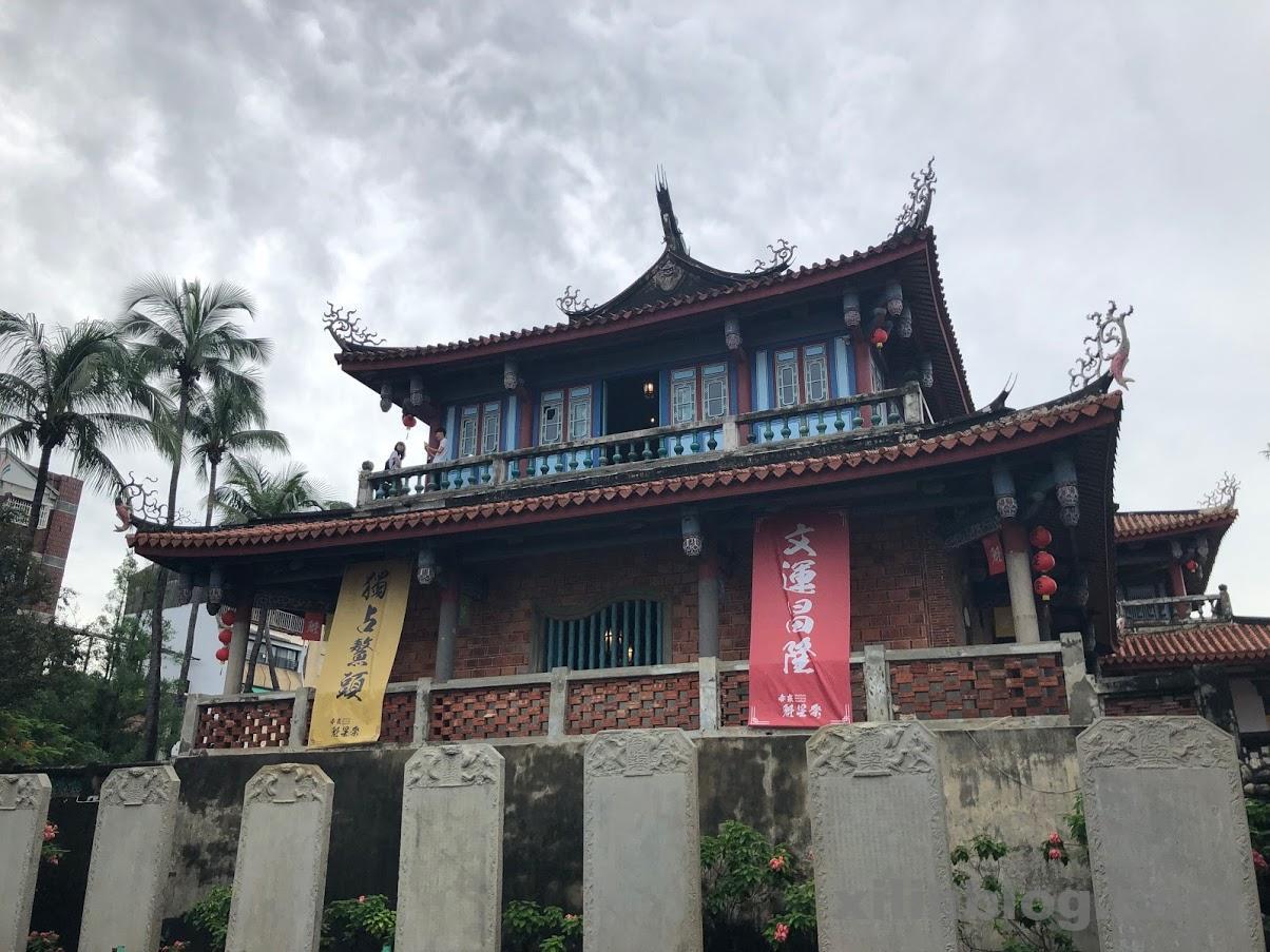 赤崁楼は台南観光の目玉