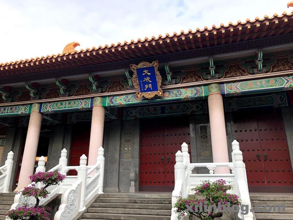 台中孔子廟の大成門03