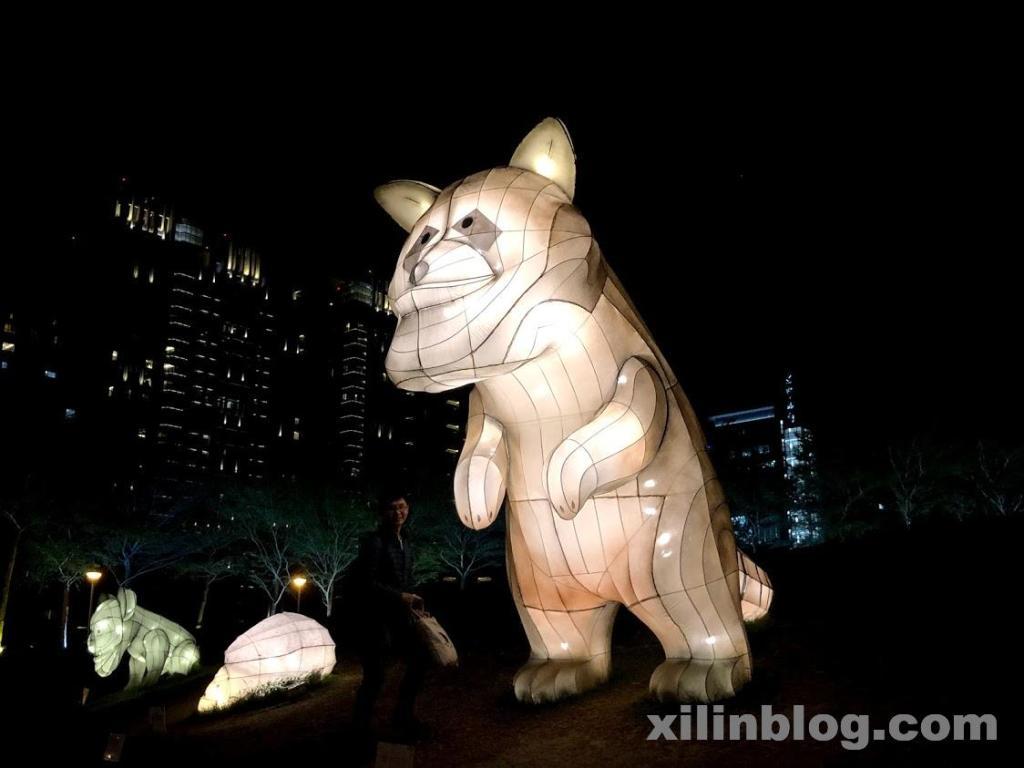 台湾燈會のサブ会場のランタン03