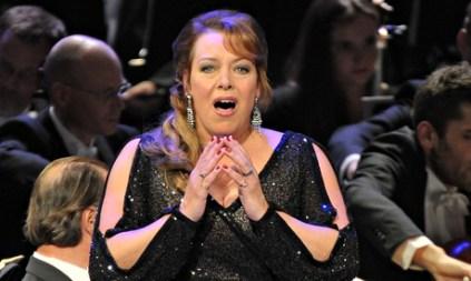 Nina Stemme, Salome al PROMS 58 del 30 d'agost de 2014 Photograph: BBC/Chris Christodoulou