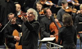 Simon Rattle conducts Prom 66 St Matthew Passion