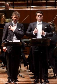 Jonas Kaufmann (Radames) i Erwin Shrott (Ramfis) Roma 27/02/2015