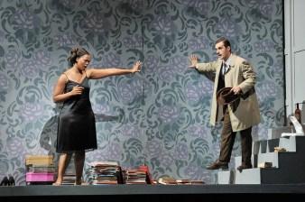 Pretry Yende (Norina) i Gabriel Bermúdez (Doctor Malatesta) Don Pasquale Liceu Fotografia ® A Bofill