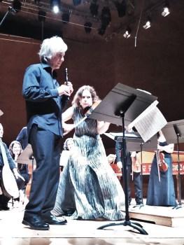 Giovanni Antonini i Patricia Kopatchinskaja a L'Auditori. Foto IFL