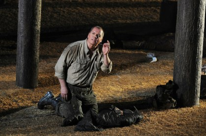 Stefan Vinke com a Siegfried al Liceu. Fotografia ® Antoni Bofill