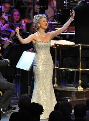 Scarlett Strallen. Photograph: Chris Christodoulou/BBC