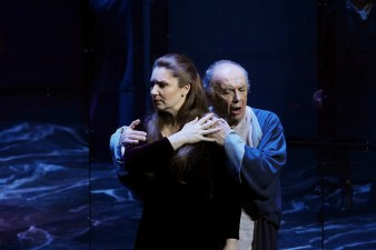 Barbara Frittoli (Amelia) i Leo Nucci (Simon) al Simon Boccanegra Liceu 2016 Fotografia © Antoni Bofill