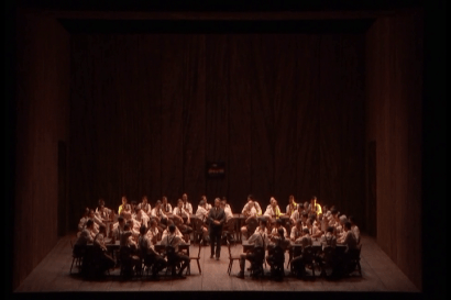 Lohengrin acte 3er Producció d'Andreas Homoki Staatsoper de Viena 2016