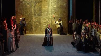 Don Carlo, producció de Daniele Abbado per a la Staatsoper de Viena 2 de juny de 2016