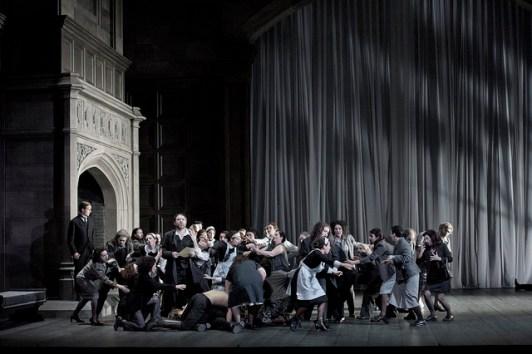 Macbeth, producció Christof Loy Fotografia © GTG / Monika Rittershaus