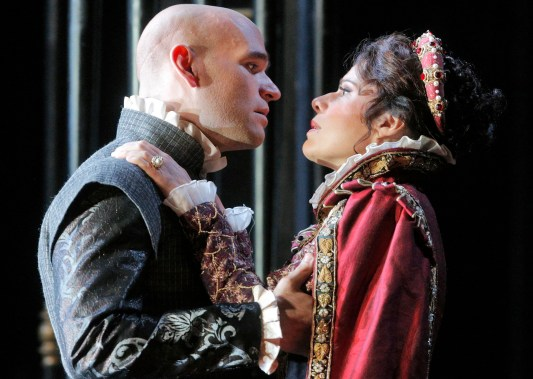 Michael Fabiano i Ana Maria Martínez al Don Carlo de San Francisco © Cory Weaver/San Francisco Opera