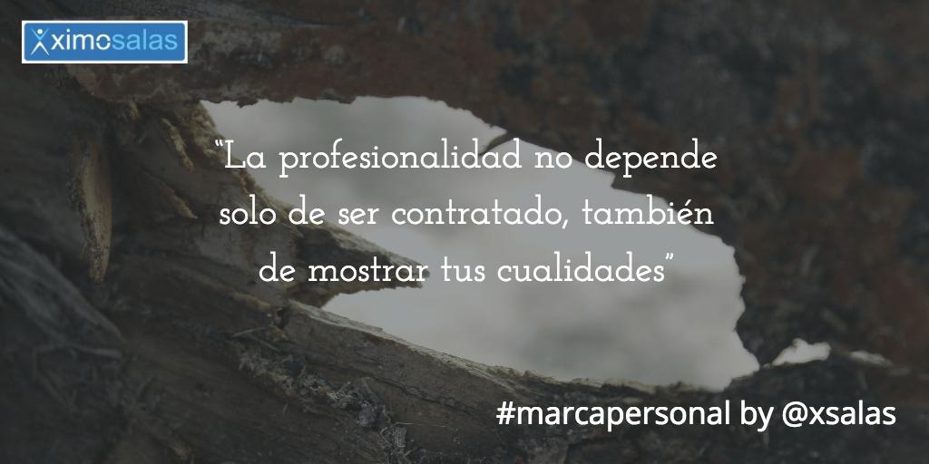 profesionalidad y marca personal