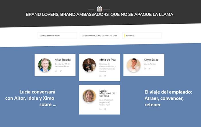 Brand lovers que no se apage la llama RRHH Ximo Salas