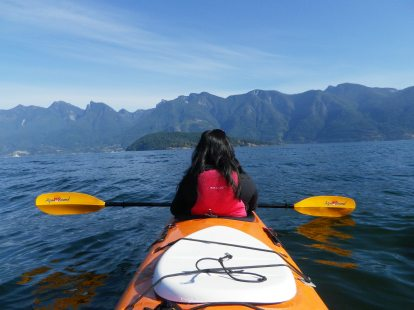 One of my fave pics of me on a kayak!