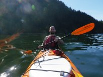Taking a pic mid-paddle is harder than you think