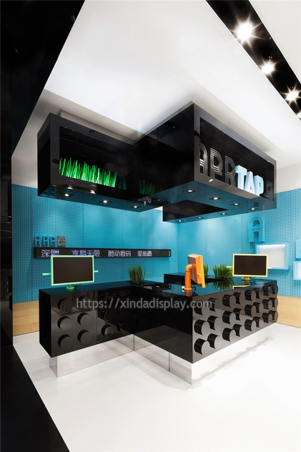 Cell Phone Shop Decoration for Mobile Shop - Retail Shop ...