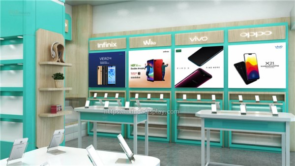 Simple Mobile Phone Shop Interior Design - Retail Shop ...