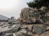 Tai Shan Summit rock formation.