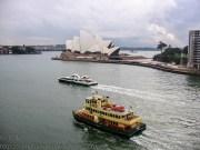 Ferries and Opera House, Sydney, Australia