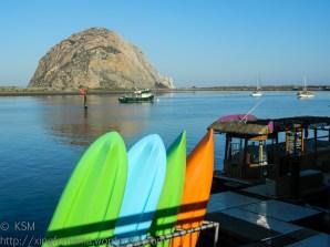Morro Bay & paddleboards