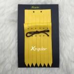 flecos piel deportivas amarillo mostaza packing